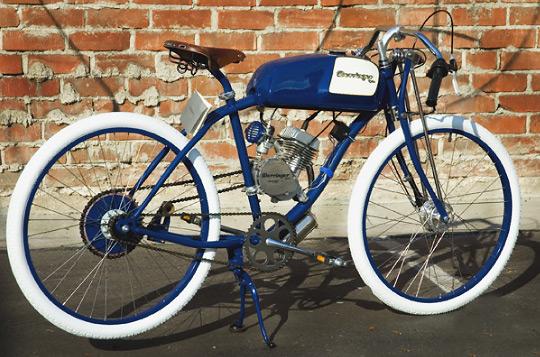 Мопед от Derringer Cycles