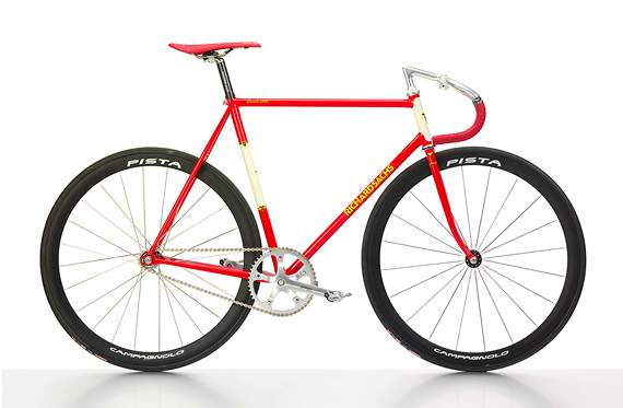 Fixed gear трековый стальной велосипед Richard Sachs