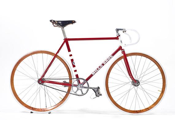 Fixed gear трековый стальной велосипед от Mills Brothers