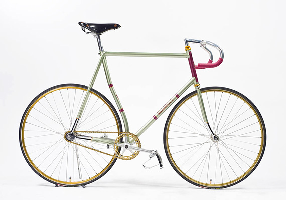 Fixed gear трековый стальной велосипед от Bilenky Cycle Works