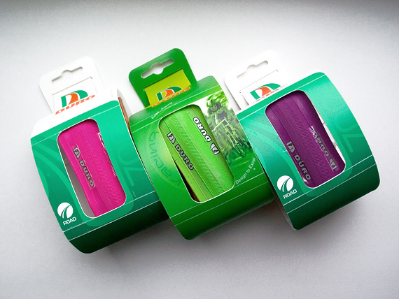 Цветные fixed gear покрышки. Розовые, зеленые, фиолетовые.