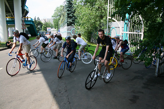 Результаты alleycat гонки на fixed gear велосипедах 12 июня 2010 года