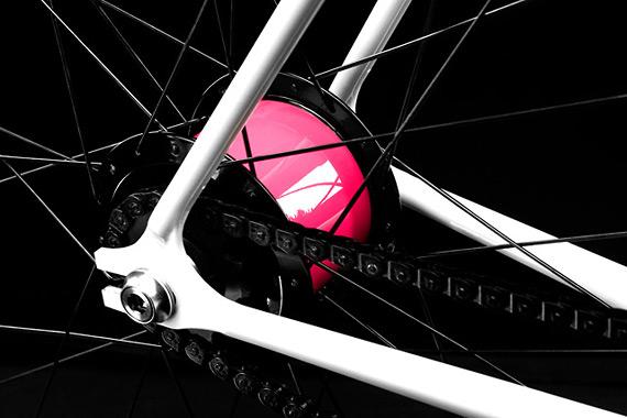 Fixed gear велосипед для девушки.
