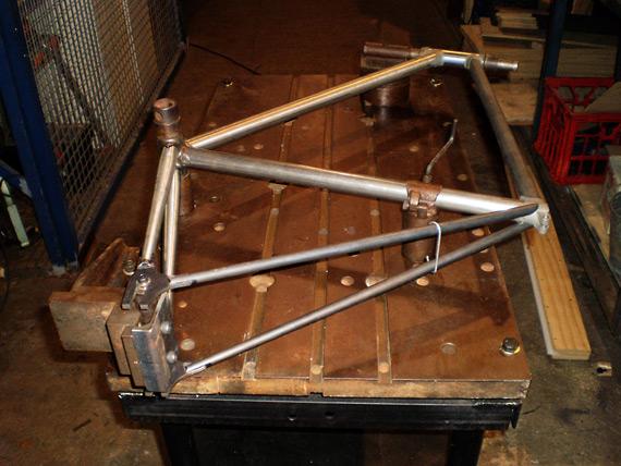 Изготовление рамы fixed gear велосипеда.