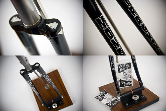 Вилка для fixed gear велосипеда от Bishop Bikes.