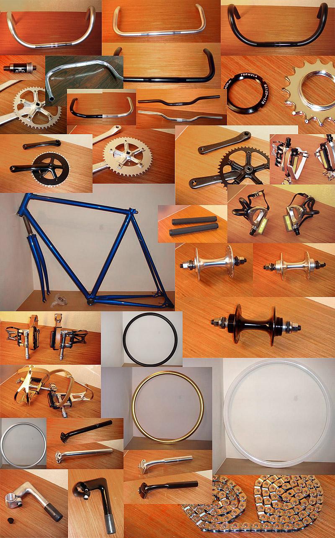 Fixed gear компоненты: рамы, втулки, обода, системы, педали, рули, выносы — которые можно купить в магазине