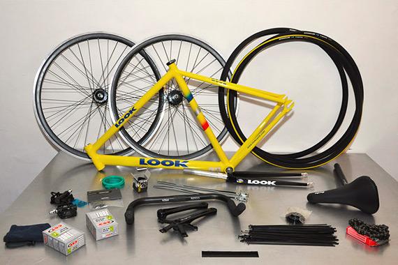 Как собрать fixed gear велосипед из этих запчастей