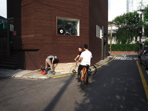 Fixed gear магазин LSD Bikes, Сеул, Корея