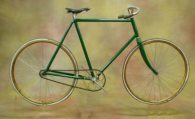 Ретро fixed gear велосипед «Imperial», 1896 год