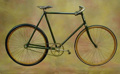 Ретро fixed gear велосипед «Andrae», 1898 год