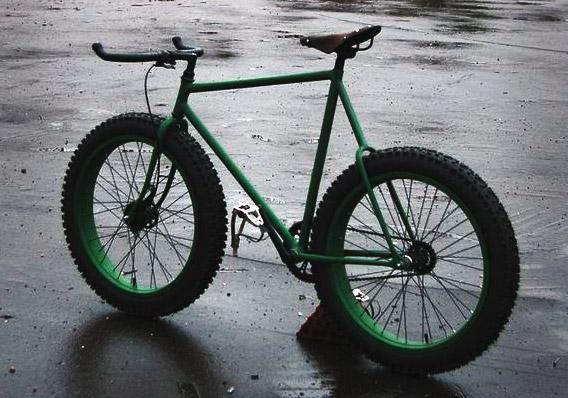 Внедорожный, offroad, зимний, fixed gear велосипед