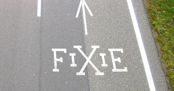 No U Turn Fixie