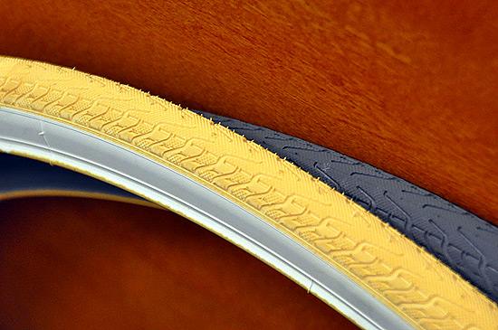 Цветные покрышки для fixed gear велосипедов Panaracer «Pasela», желтая и серая