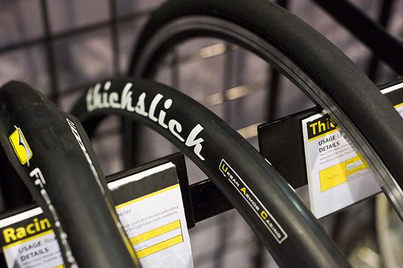 Специальные покрышки для fixed gear трековых велоспиедов — Thickslick