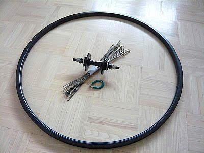 Инструкция (книга) как собрать, спицевать колесо для fixed gear, трекового велосипеда